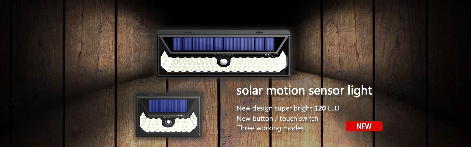 Solar Motion Sensor Light Manufacturer China
