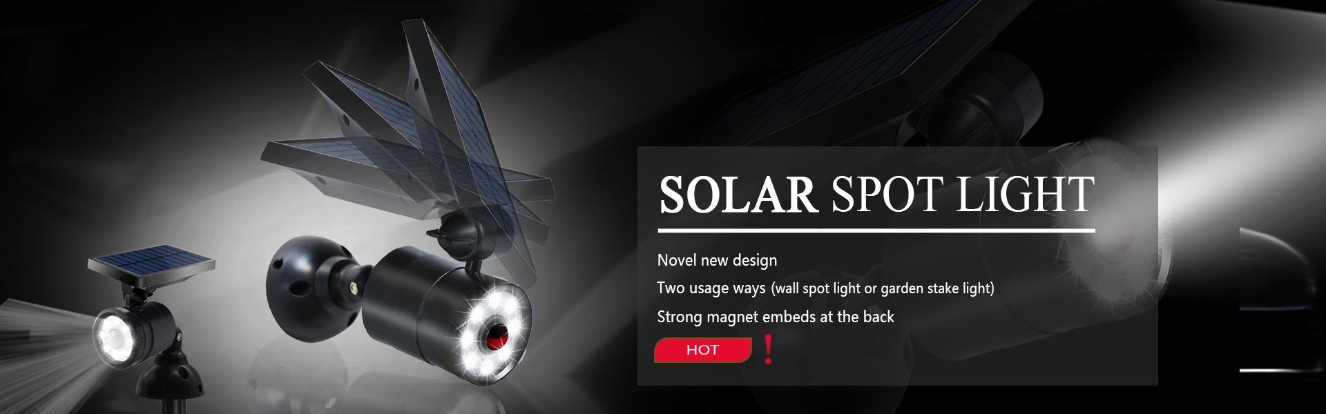 Solar Spot Light Supplier China