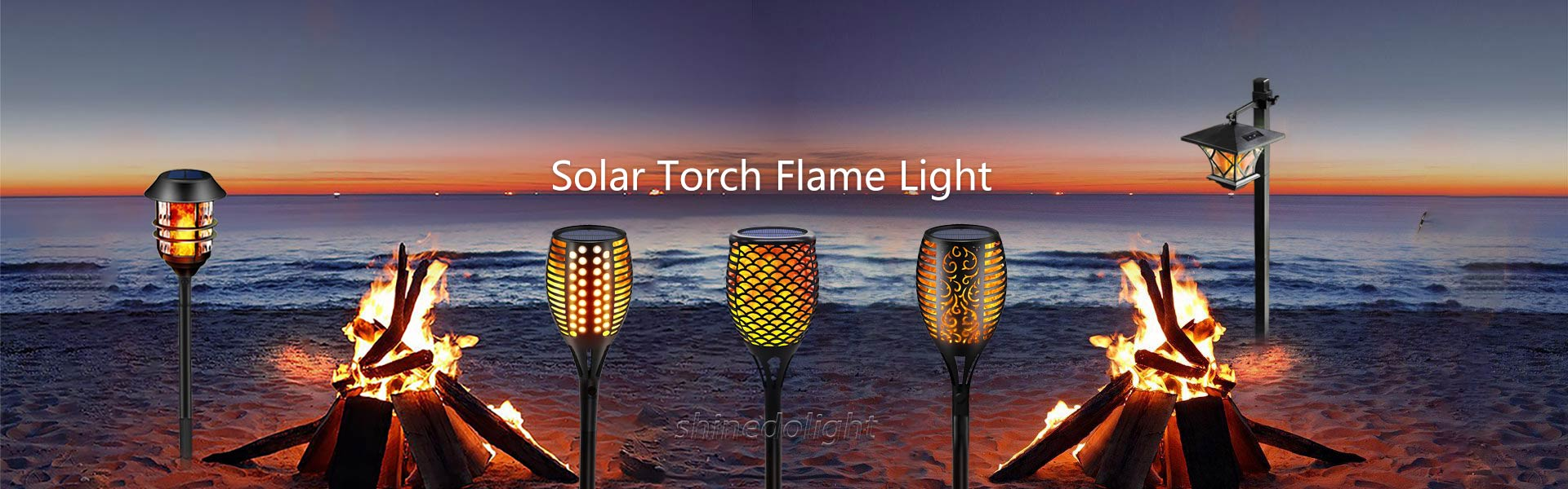 Solar Torch Flame Light Factory China