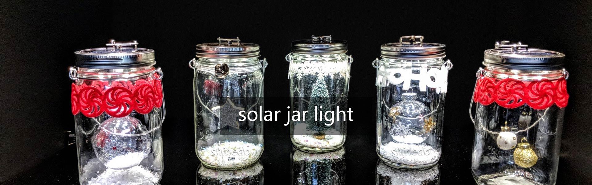 Solar Jar Light Factory China