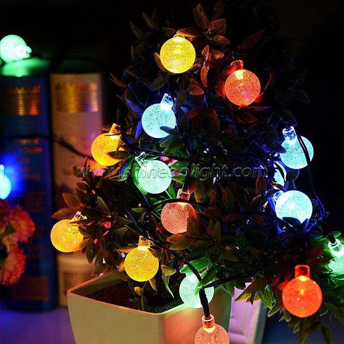 Waterproof String Lights Solar Powered Fairy Lighting for Garden