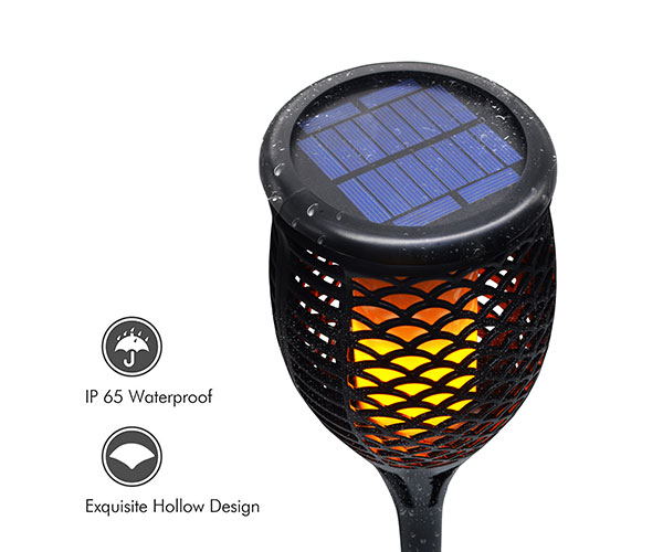 Shinedo's new solar torch (flame) light comes out