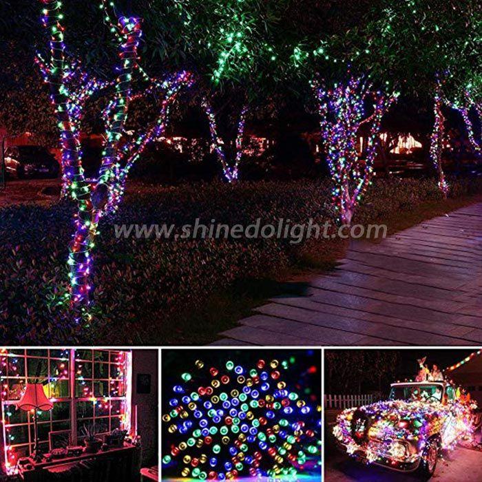 Solar String Fairy Christmas Lights