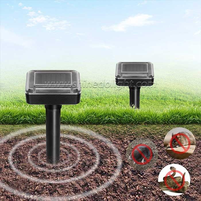 Solar Mole Repeller For Garden