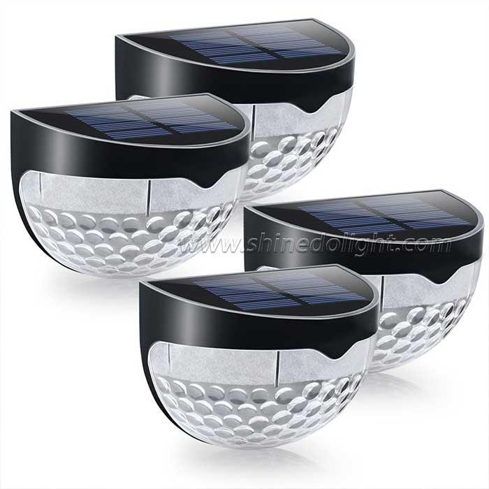6 LED Solar Fence Post Light