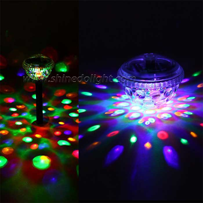 Solar Garden Disco Landscape Light