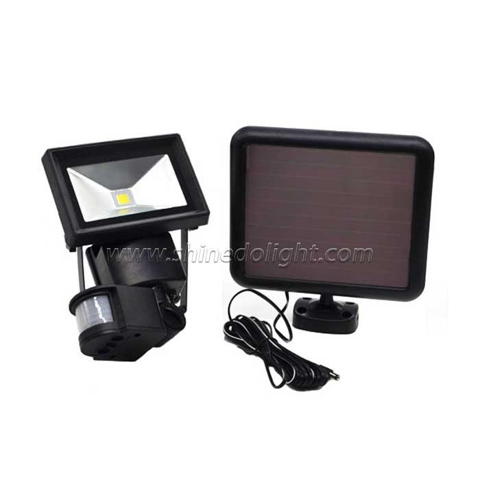 1 COB Solar Motion Sensor Spotlight