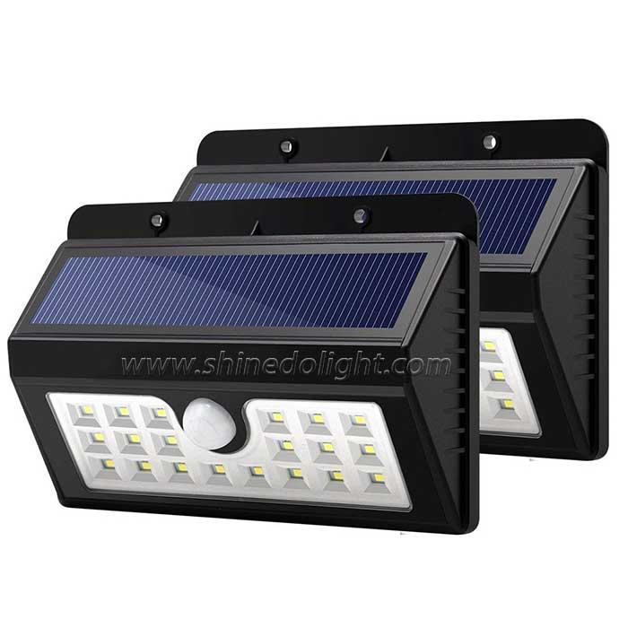 20 LED Wireless PIR Sensor Solar Garden Light