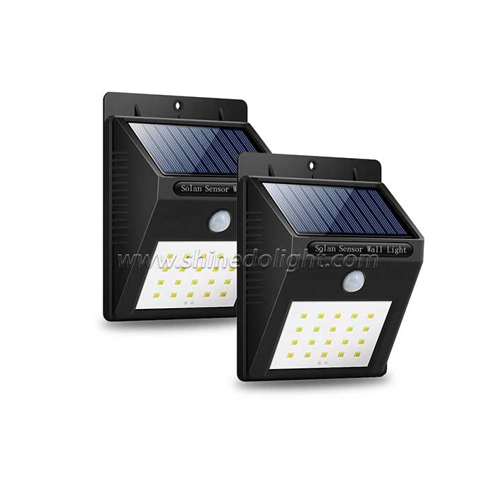 20 LED Outdoor Gate Motion Activated Solar Light