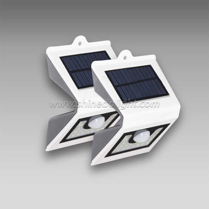 Wall Mounting Solar Security Light for Pathway