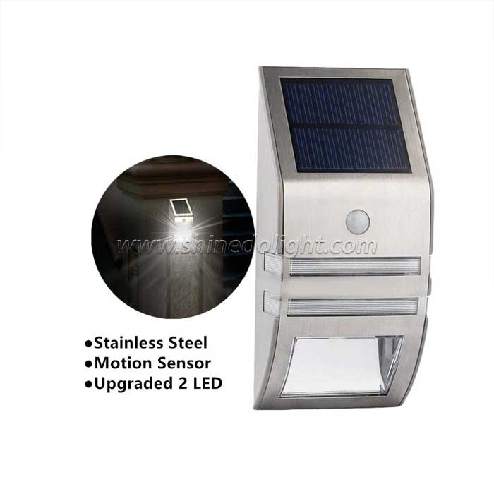 Manufacturer Solar LED Flood Door Lamp with PIR Motion Sensor