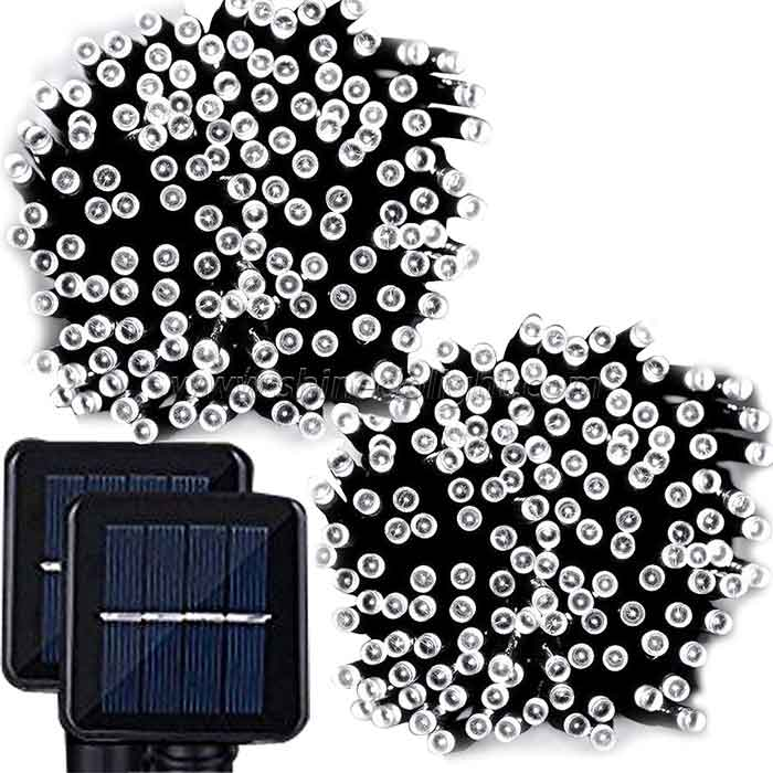 Solar Fairy Christmas String Lights for Holiday Party