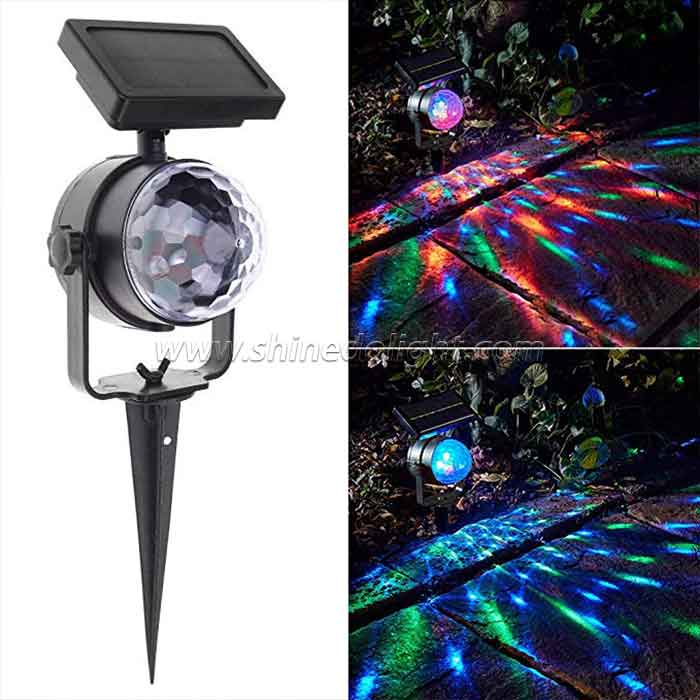 Solar Color Changing Disco Garden Light