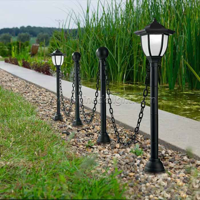 Solar Garden Light with Chain for Garden