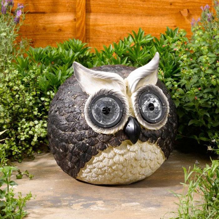 Ourdoor Solar Owl Garden Lights