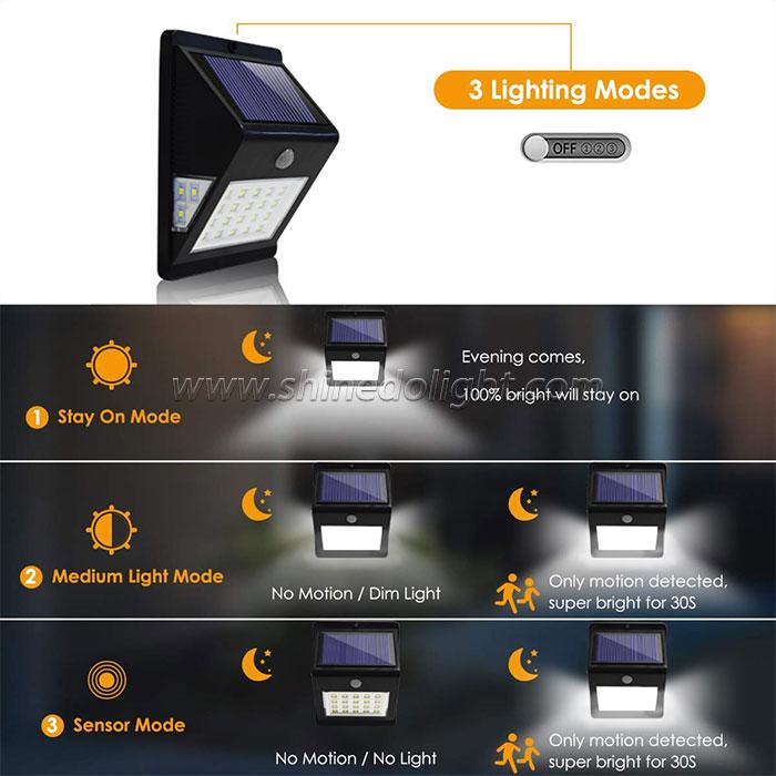 26 LED Solar Motion Sensor Light