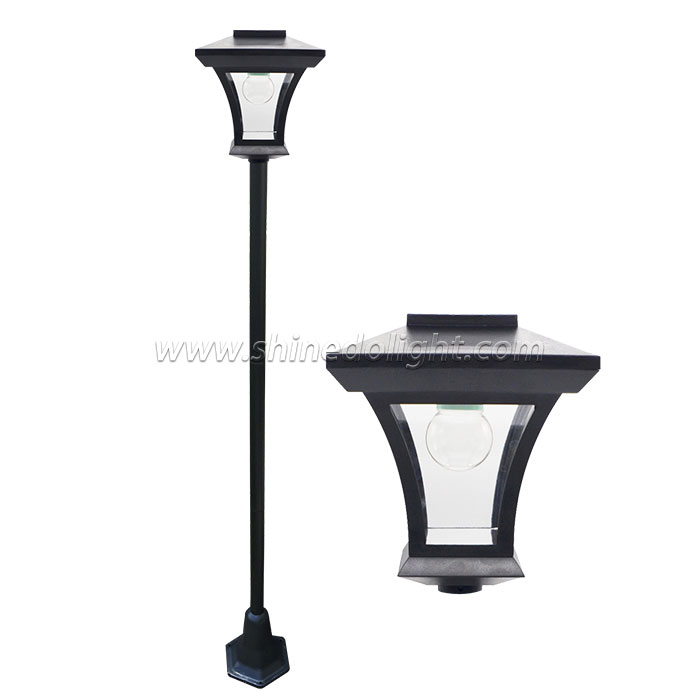 Solar Post Light For Garden