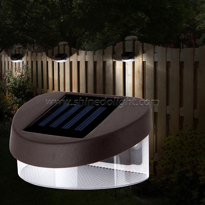 Solar Fence Light Outdoor Wall light