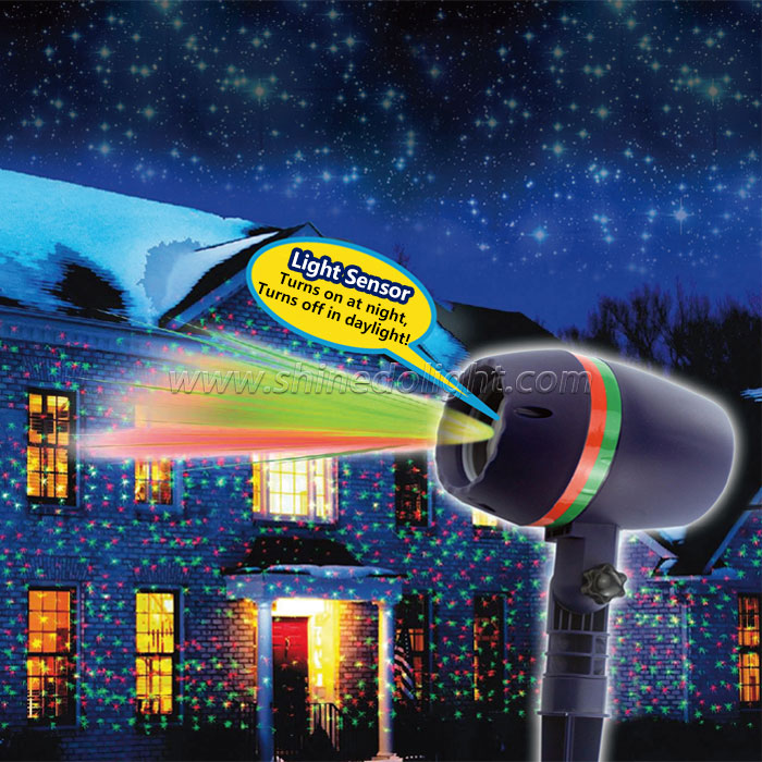 Christmas Laser Light for Outdoor Garden Decoration with Remote Control