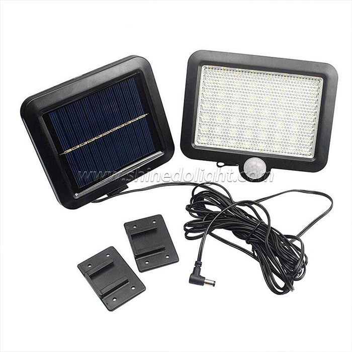 56pcs LED Solar Motion Sensor Light Outdoor Waterproof Wall Light