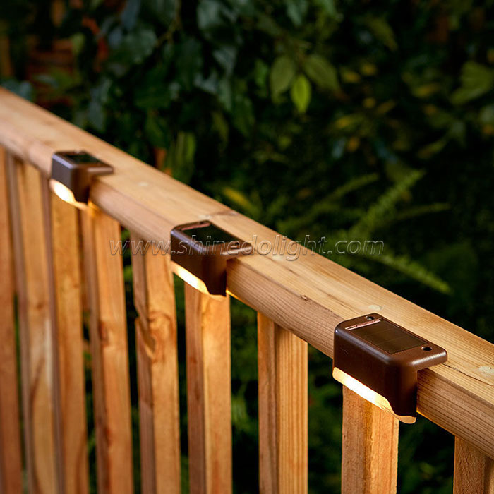 New Products Led Solar Deck Post Fence Step  Light