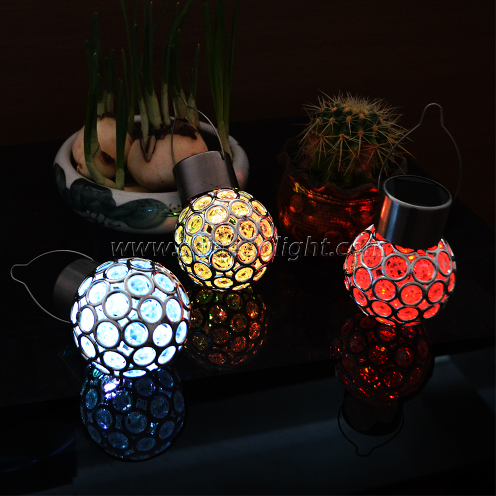 Multicolor Auto Changing Solar Powered Outdoor Lights