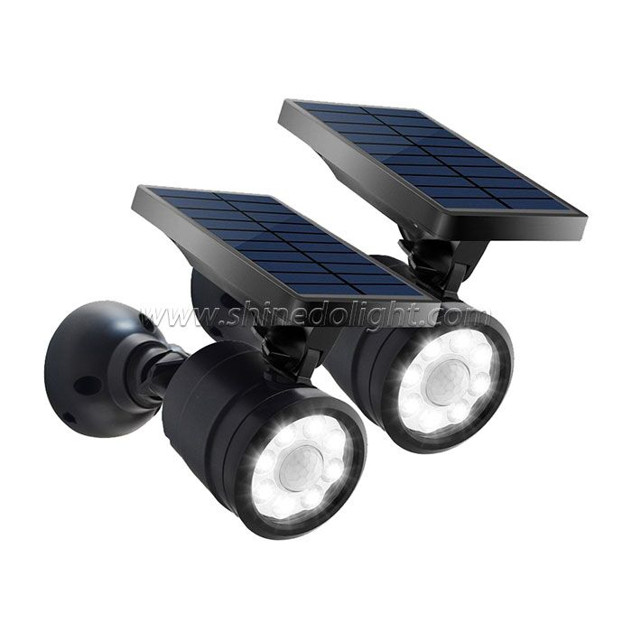Multipurpose Solar Spot Wall Light for Garden