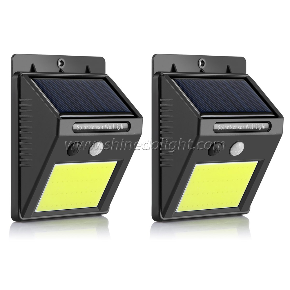 Waterproof Wireless 35 COB LED Solar Motion Sensor Wall Security Night Light