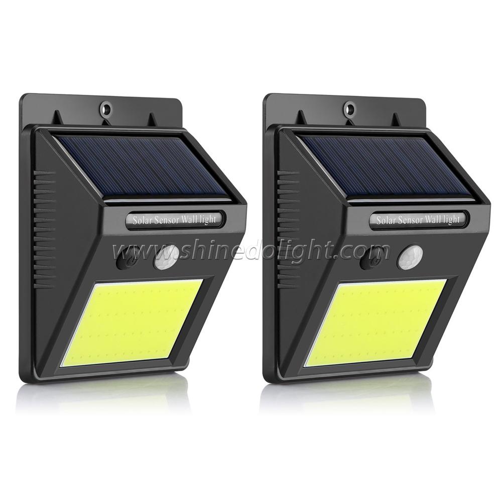 Waterproof Wireless 35 COB LED Solar Motion Sensor Wall Security Night Light