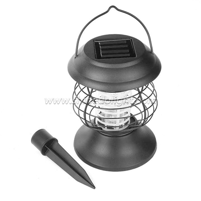 Big Zapper Outdoor Solar Mosquito Lamp UV Light with Handle