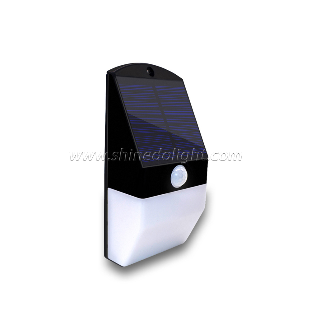 New Design Solar Motion Sensor Wall Light