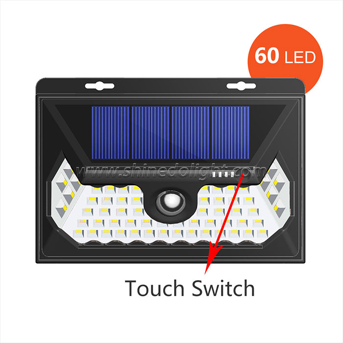 60 LED Solar Motion Sensor Light