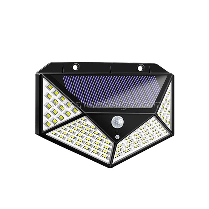 100 led solar motion light
