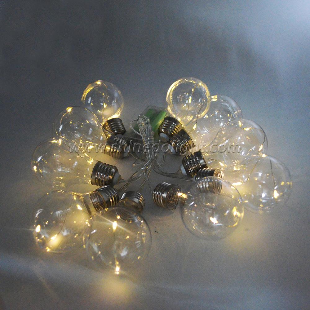 Waterproof LED Outdoor Festival Decoration Led Bulbs Light String