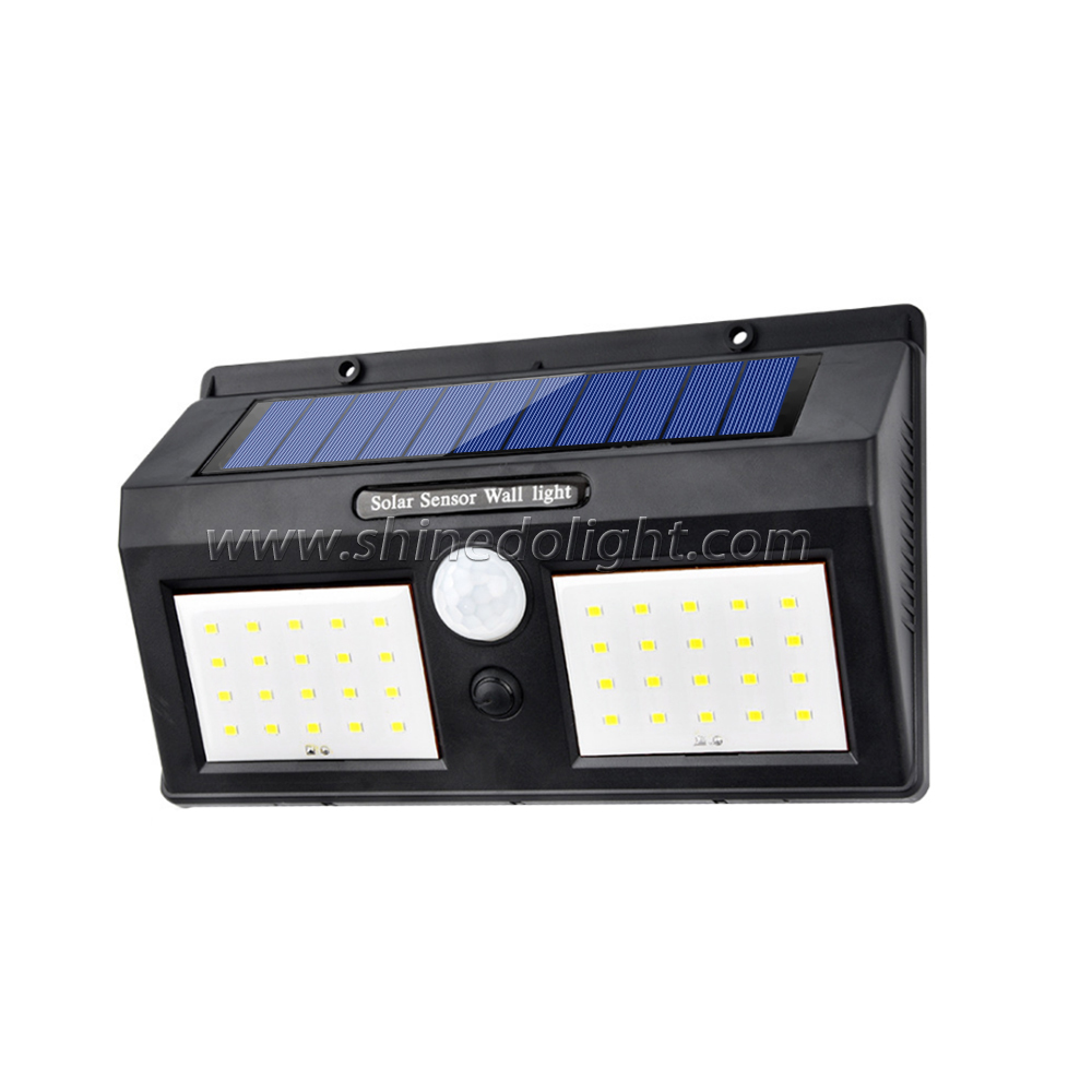 40 LED Wireless Waterproof Motion Outdoor Solar Panel Powered Light