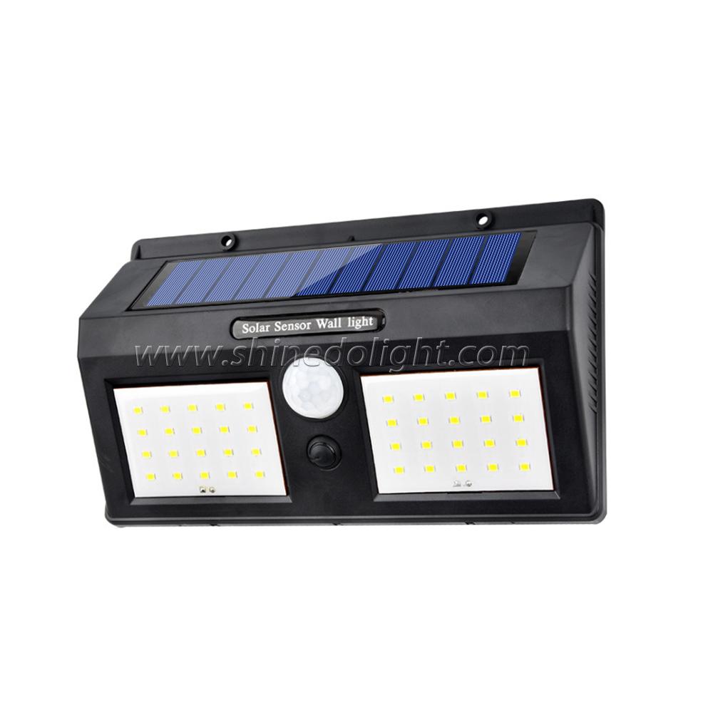40 LED Wireless Waterproof Motion Outdoor Solar Panel Powered Light