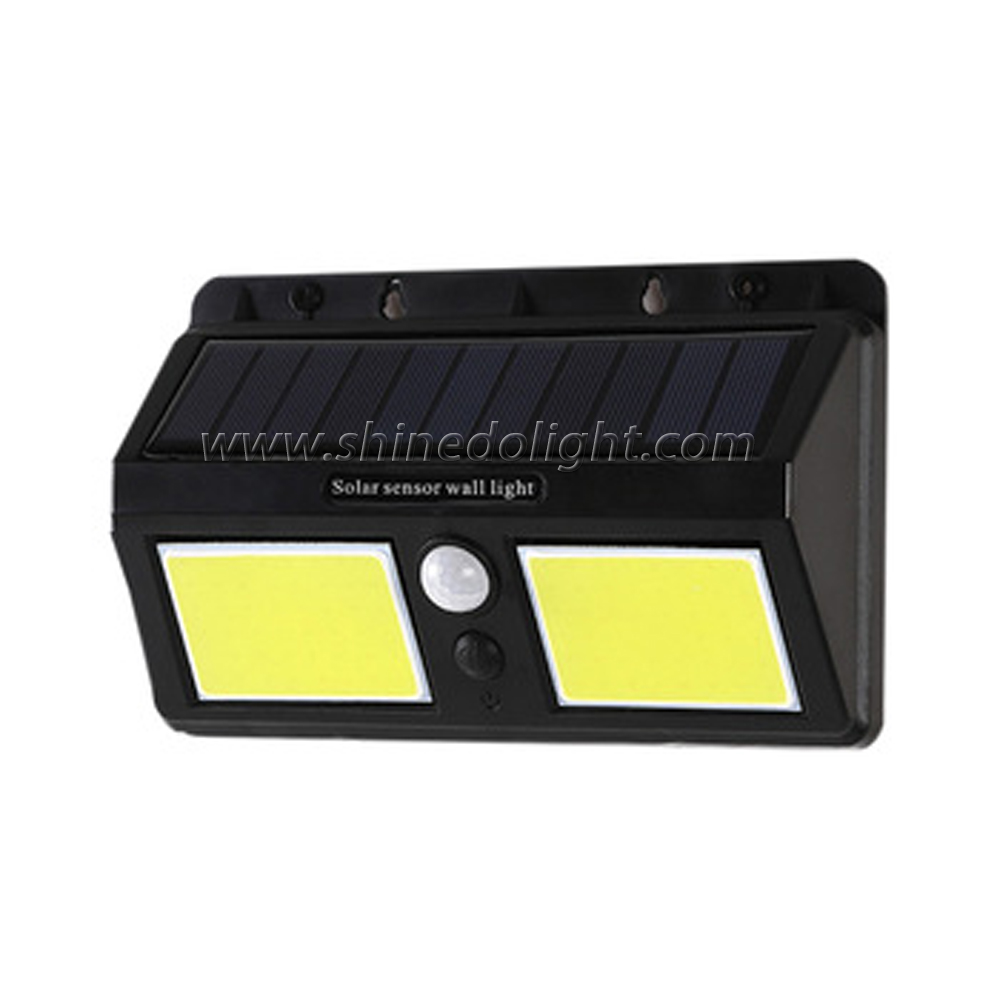 Soalr Wall 96 Led Security Outdoor Wall Motion COB Sensor Light for Garden