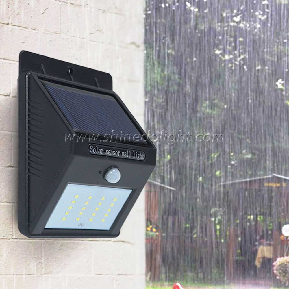 30LED Solar Powered Light, Shinedo Waterproof Solar PIR Sensor Wall Light for Garden, Yard, Garade Pathway Security Lighting  FOB Reference Price:Get Latest Price