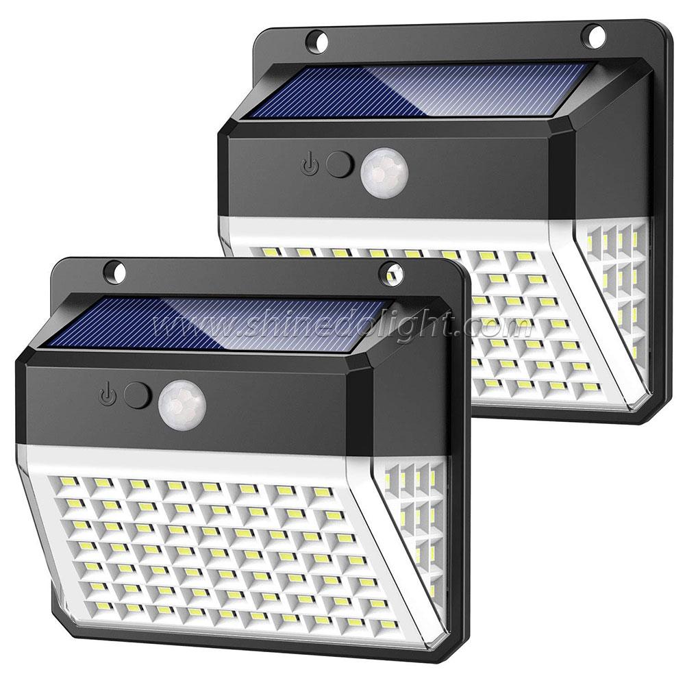82 LED Solar Motion Sensor Light
