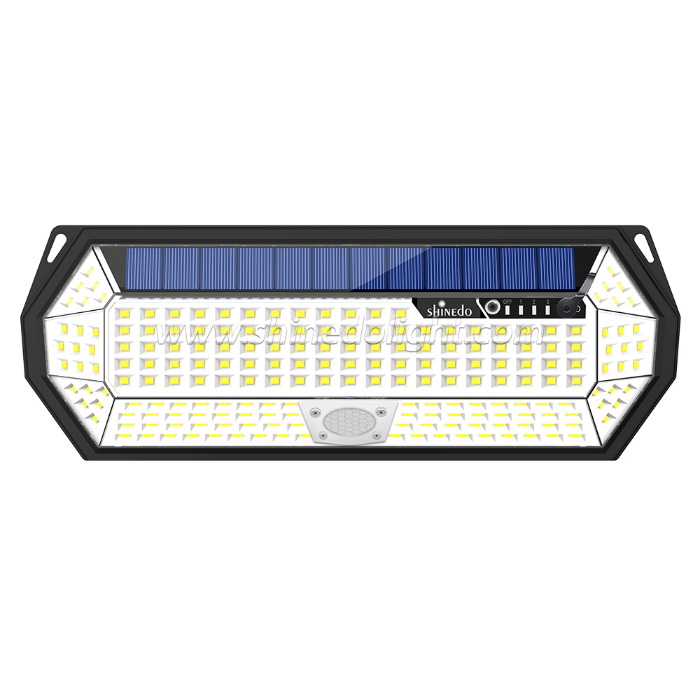Shinedo Patent Outdoor Waterproof Solar Motion Sensor Light