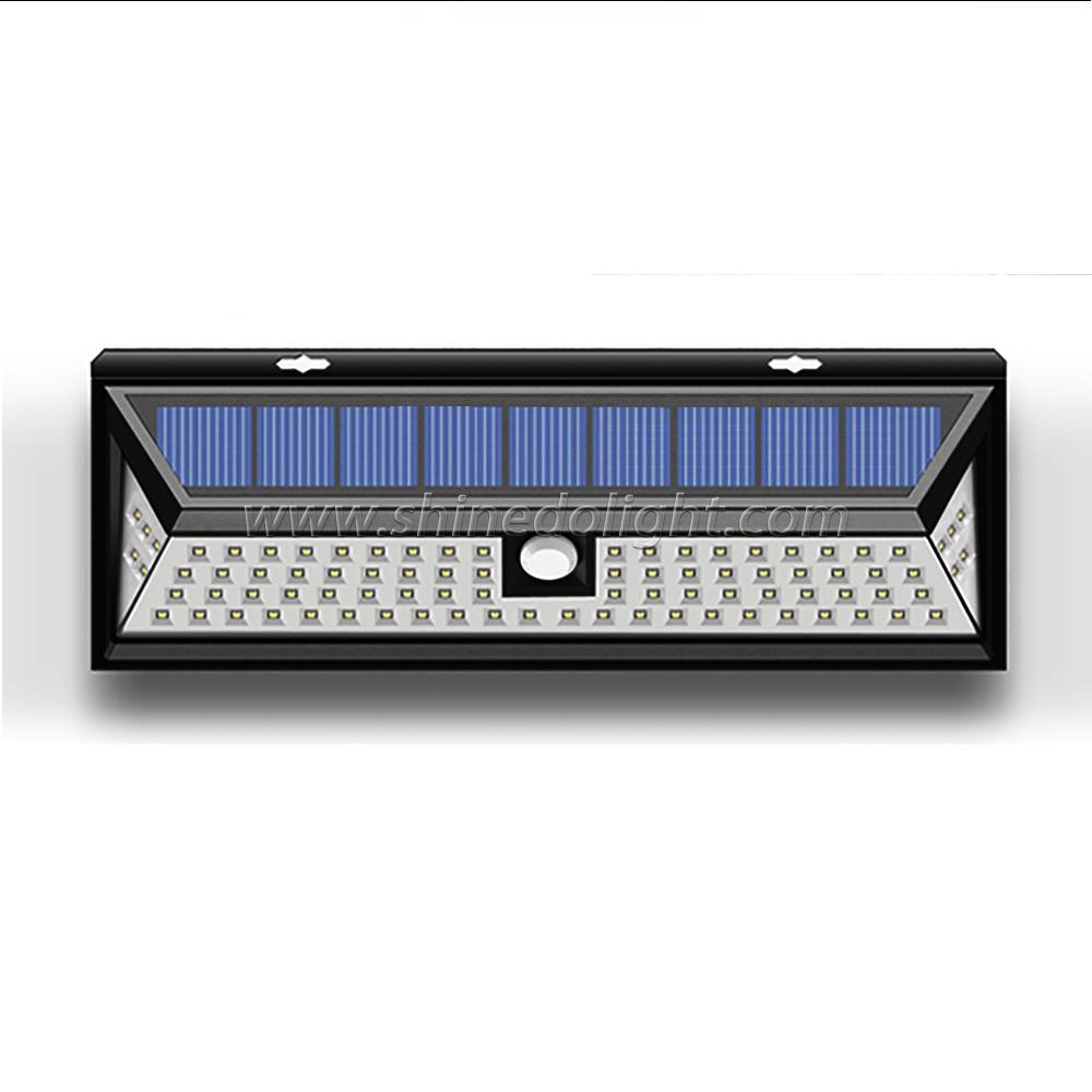 86pcs LED Outdoor Solar Motion Sensor Light Street Light