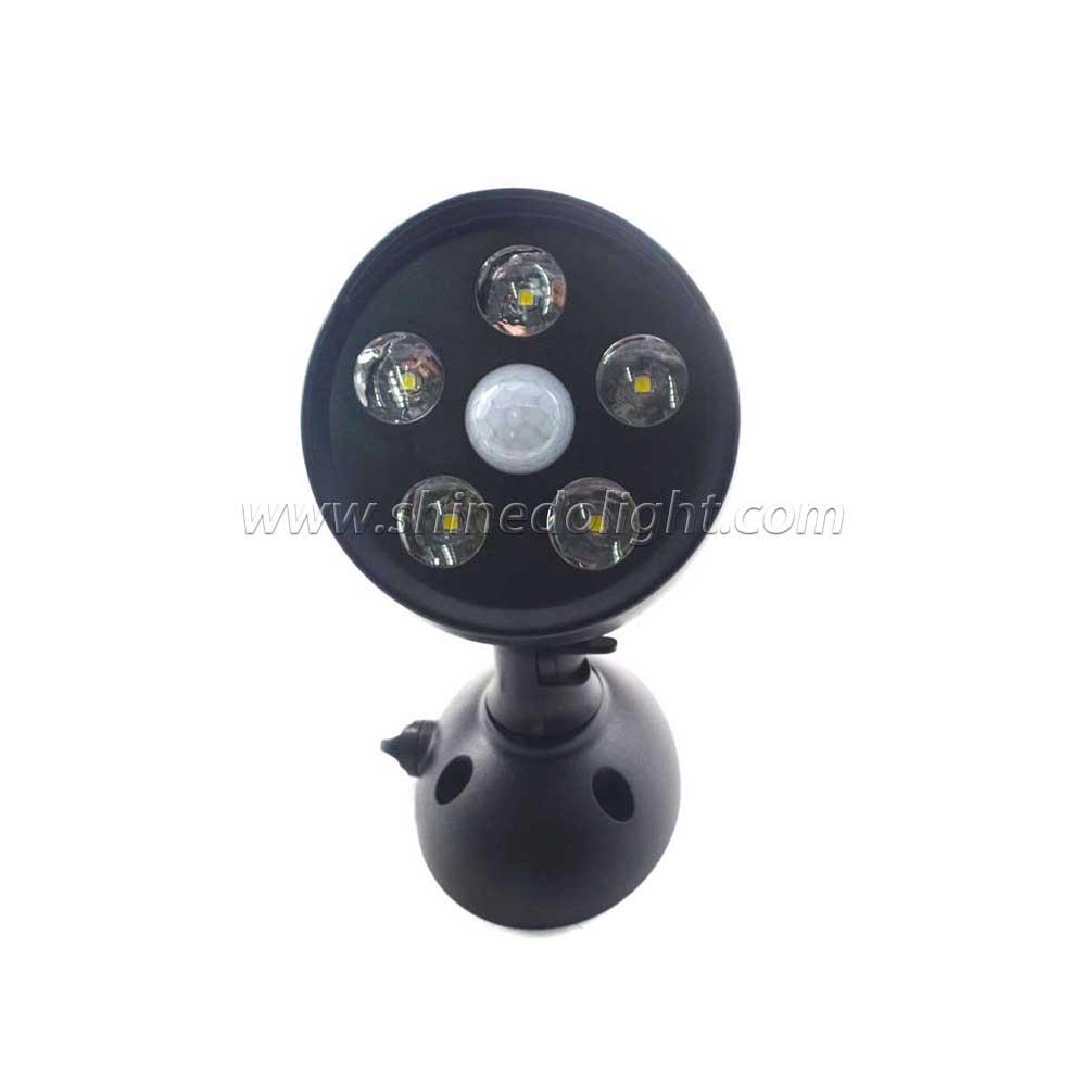 Waterproof PIR Motion Sensor Street Light for Garden Decoration