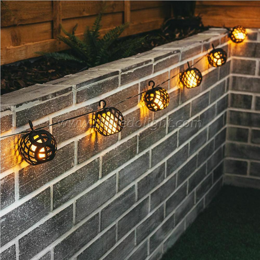 Solar Powered Outdoor String Light