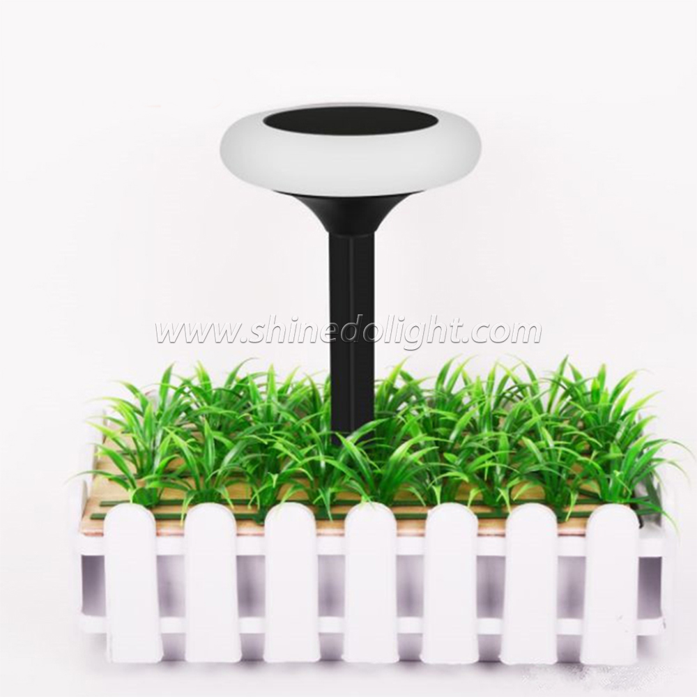 Color Change Security Energy Saving Light Outdoor Underground LED Solar RGB Park Garden Lamp